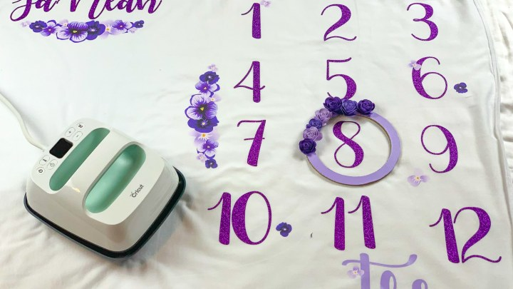 How To Make A Baby Milestone Blanket