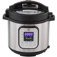 Multi-pot 10-in-1 Electric Pressure Cooker with Stainless Steel 6 Quart Pot