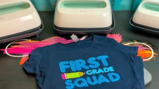 First Grade Squad Shirt + Free Cut File
