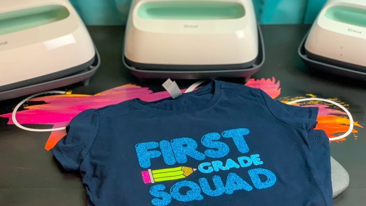 First Grade Squad Shirt + Free Cut File