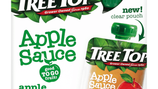 Tree Top No Sugar Added Apple Sauce Pouch 4 Pack - Tree Top
