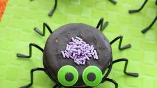 Spider Donuts – Halloween Treats