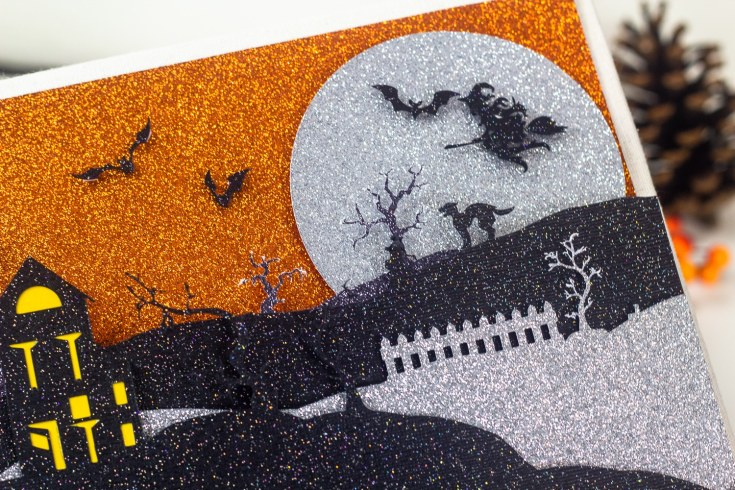 How to Make A Cricut Halloween Scene