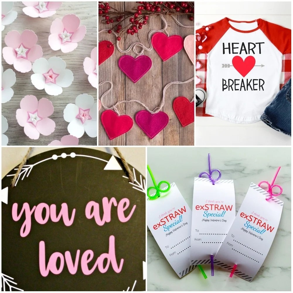 15 Epic Cricut Valentine's Day Crafts