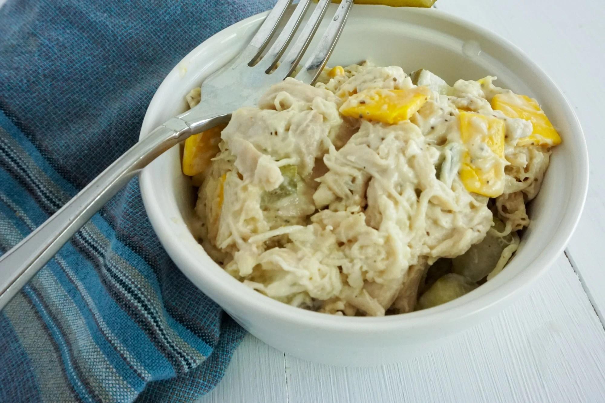 Instant Pot Keto Chicken Salad Recipe