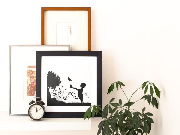 Easy DIY Wall Art With Cricut Vinyl + Free Cut Files