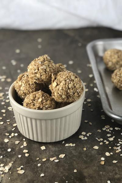 easy snack recipe peanut butter protein balls