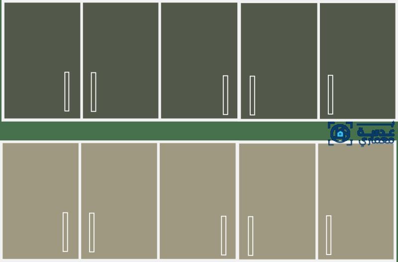 أحدث تصميمات المطابخ لعام 2021 •دولاب المطبخ بألوان الأخضر المصفر .