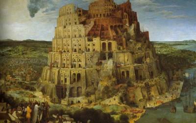 Babelse verwarring laat bouwerk staan