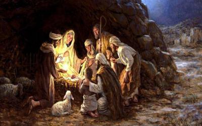 DIE MESSIAS IS GEBORE, SÊ SKAAPWAGTERS