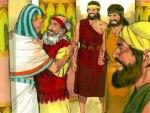 Safenat-Paneag verwelkom sy vader in Egipte