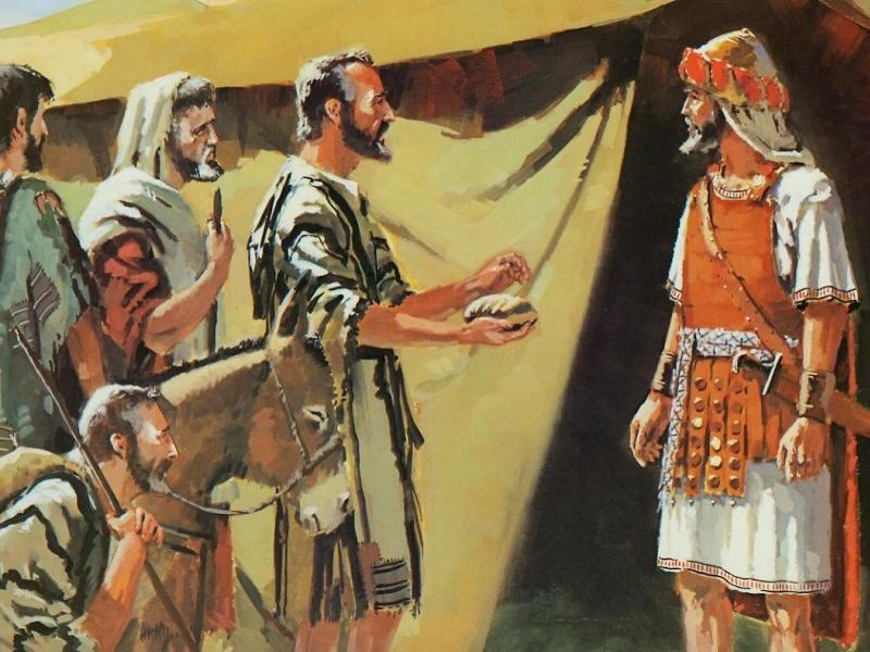 Israel sluit historiese verdrag met Gibeon