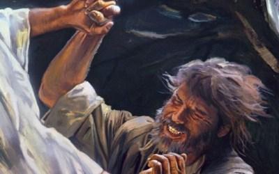 Koning en leërhoof haaks oor Israeliete