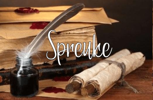 Hoofstuk van die dag: Spreuke 29