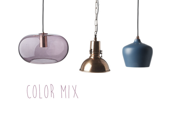 Lamp mix color from ILVA