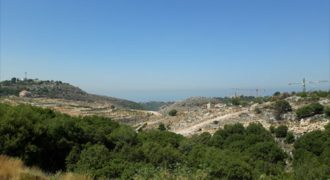 Land for sale Gharzouz Jbeil Area 980Sqm