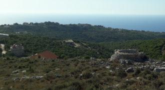 Land for Sale Gharzouz Jbeil Area 940Sqm