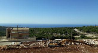 Land for Sale Gharzouz Jbeil Area 826Sqm