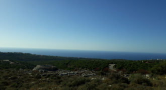 Land for Sale Gharzouz Jbeil Area 882Sqm