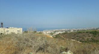 Land for Sale Bmahrain Jbeil Area 1600Sqm
