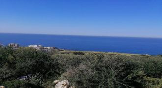 Land for Sale Monsef Jbeil Area 2752Sqm