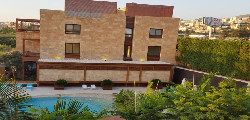 Apartment Super Deluxe for Sale Blat ( Qartaboun ) Jbeil ( Byblos Sude Village ) Area 155Sqm