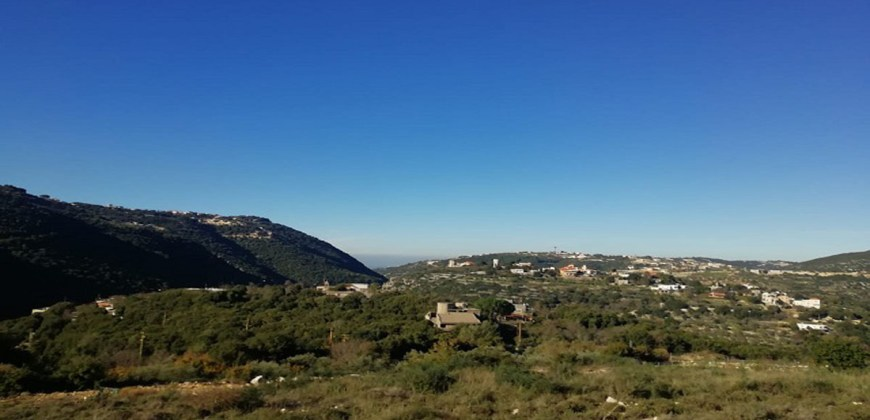 Land for Sale Ain Kfaa Jbeil Area 1225Sqm