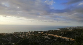 Land for Sale Fidar ( Halat ) Jbeil Area 622Sqm