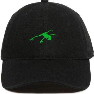 Frog Dad Hat Baseball Cap Embroidered Cotton Adjustable