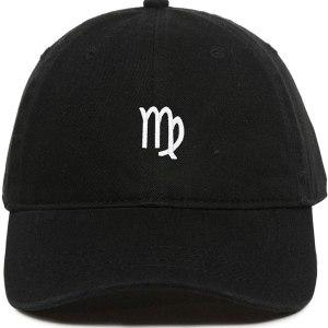 Virgo Zodiac Dad Hat Baseball Cap Embroidered Cotton Adjustable