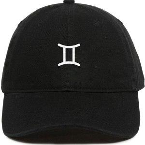 Gemini Zodiac Dad Hat Baseball Cap Embroidered Cotton Adjustable