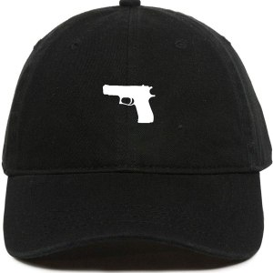 Glock Gun Dad Hat Baseball Cap Embroidered Cotton Adjustable