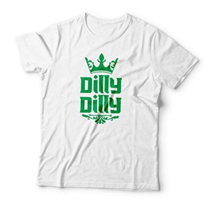St. Patrick's Day Crown Irish Dilly Dilly Soft Cotton T-Shirt