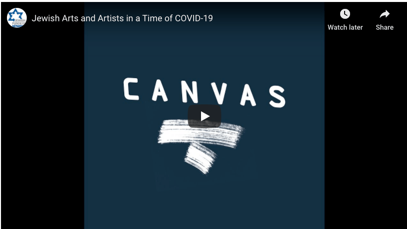 Video: Jewish Arts & Artists in a Time of COVID-19