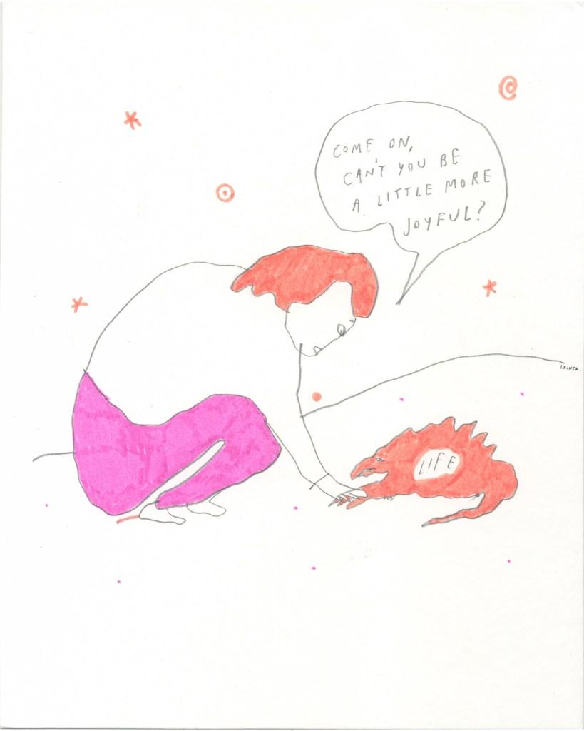 Liana Finck drawing