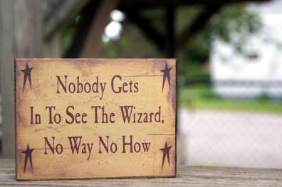 Oz Sign
