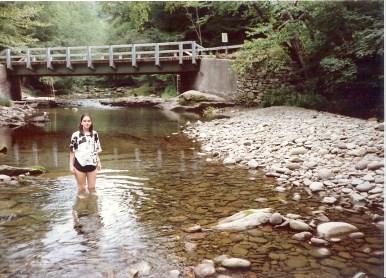 Standing in stream