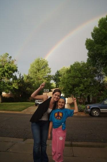 Look! A rainbow