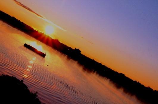 tilted sunrise