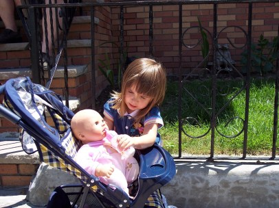 Matilda and her baby