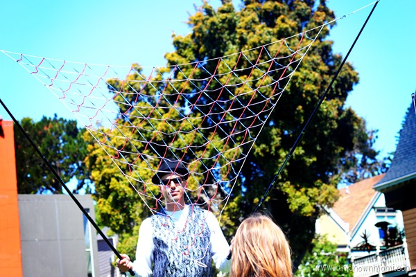 The San Francisco Bubble Man