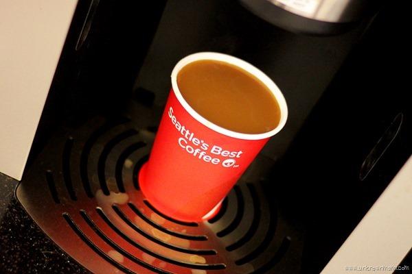 Coffee from Rubi Kiosk