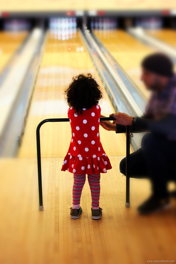 Bowling with a ramp at Sea Bowl
