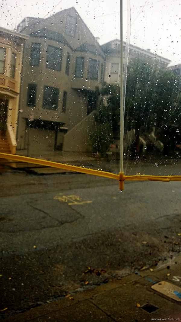Rainy day in San Francisco