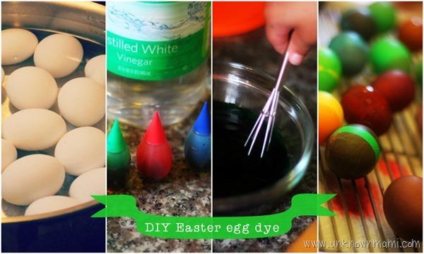 DIY Easter egg dye recipe