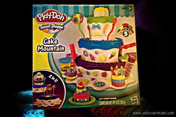 Play-Doh Cake Mountain