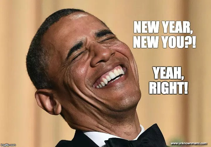 Obama New Year Meme