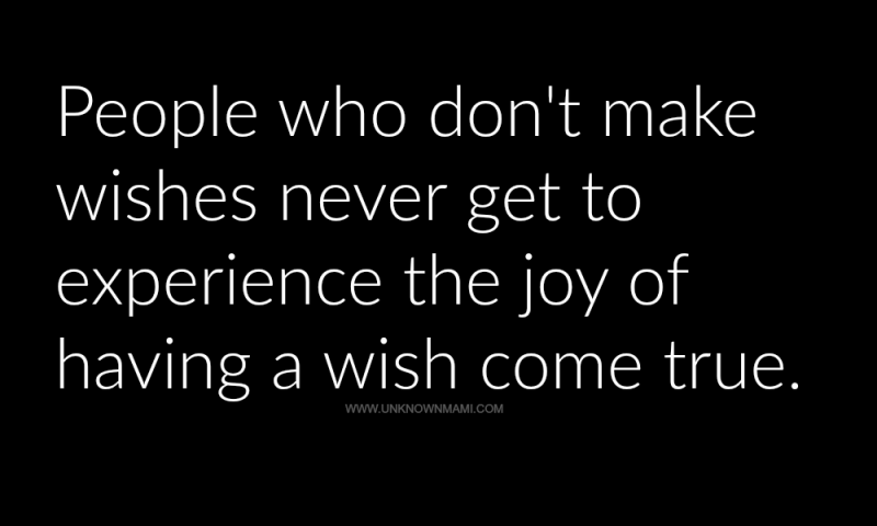 Wishes quote