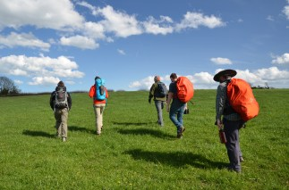 Crossing Minacre farm