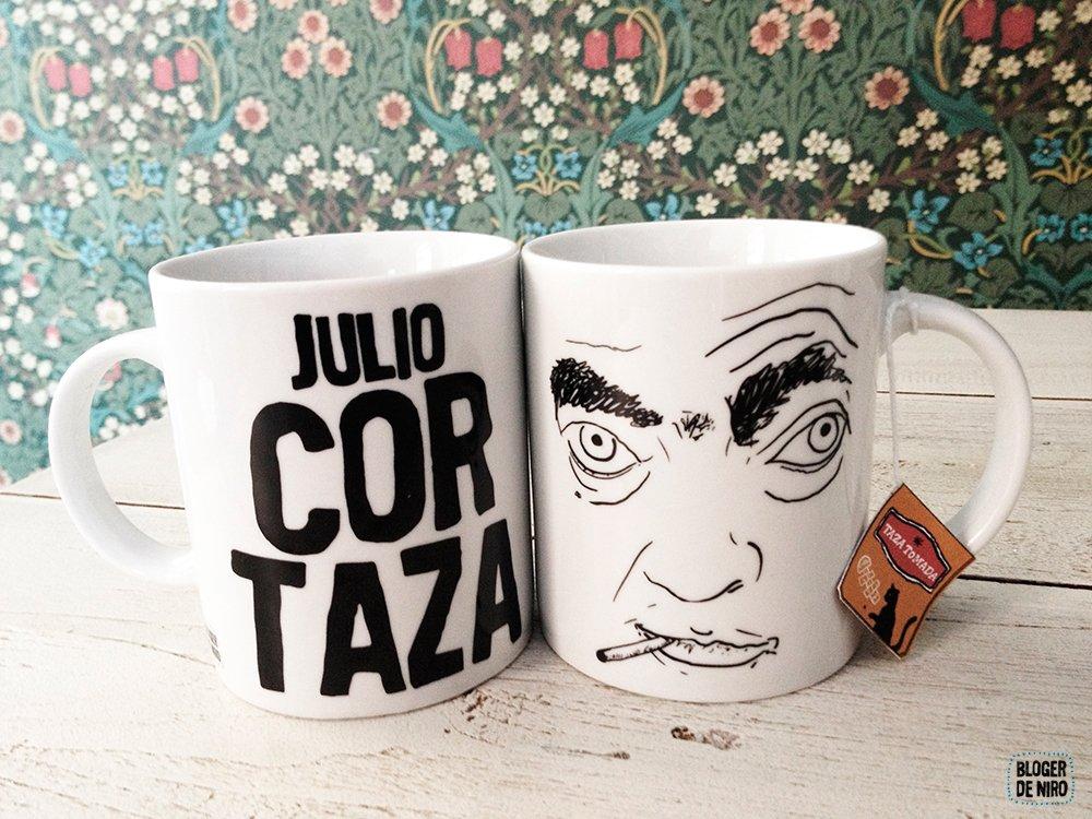 Taza Julio Cortazar, bloguer de Niro